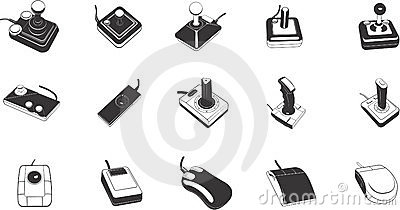 Illustrations of game controls