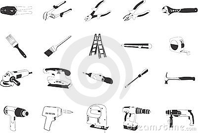 illustrations of Tools