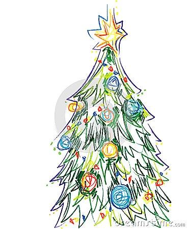 Illustrator weihnachtsbaum vektor stockfotos bild 3879843 - Weihnachtsbaum vektor ...