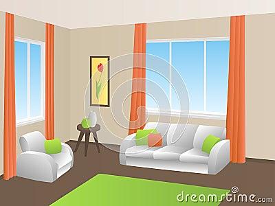 Pareti arancio e gialle fotografia stock   immagine: 58027027