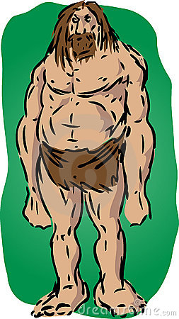 Illustrazione del Caveman