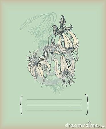 Illustrazione del giglio dell annata