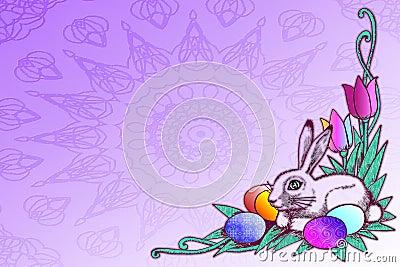 Illustrazione di riserva del concetto di Pasqua
