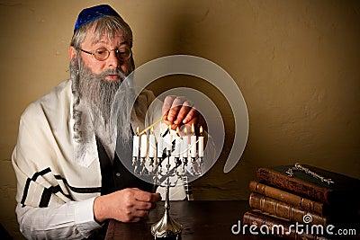 Iluminação para o hannukah