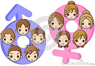 Ilustração do género