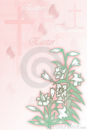 Ilustración común del concepto de Pascua