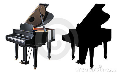 Ilustración del piano