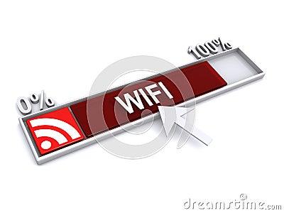 Ilustración de WIFI