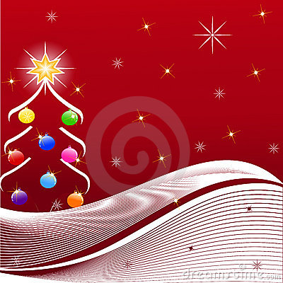 Ilustración del árbol de navidad
