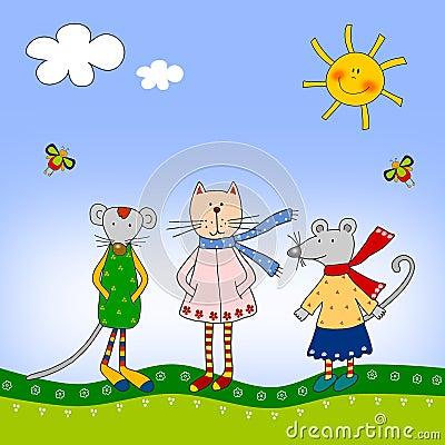 Ilustración para los niños