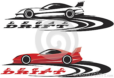 Sportowego samochodu emblemat