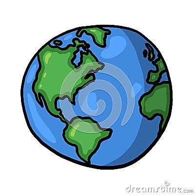 Ilustracyjny świat