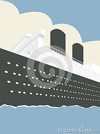 Ilustracyjny statek