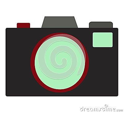 Ilustração da câmera