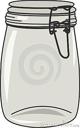 Ilustração do vetor do frasco