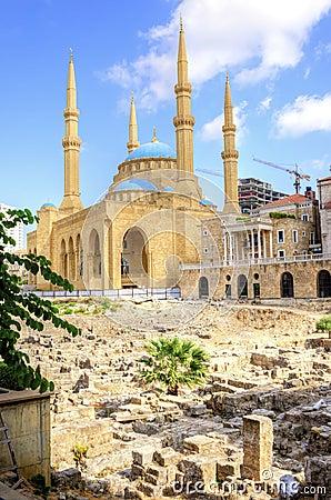Im Stadtzentrum gelegenes Beirut, der Libanon