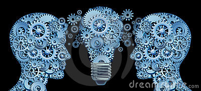 Im Team zusammenarbeiten für Innovation