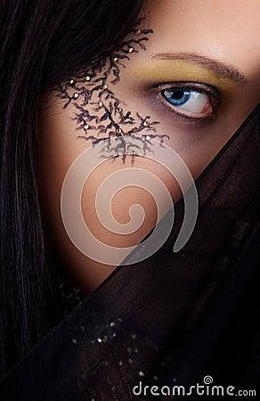 Image blue-eyed girl