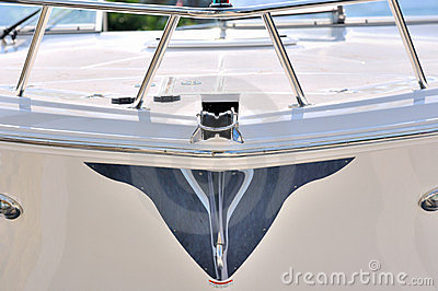 Image from body of a yacht