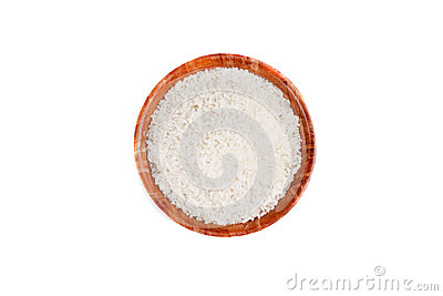 An image of a bowl with raw rice