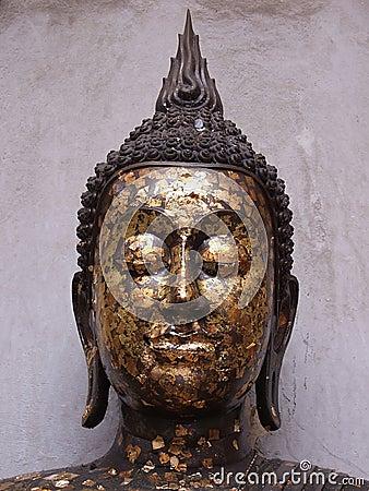 Image of Buddha head