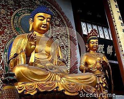 Image of buddha - Shanghai