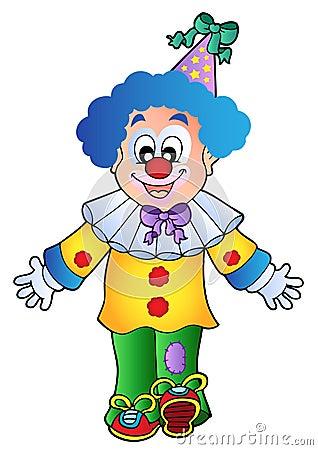 Image of cartoon clown 1