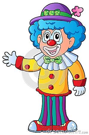 Image of cartoon clown 2