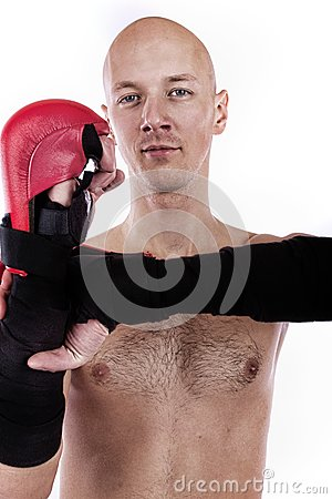 Image of confient fighter