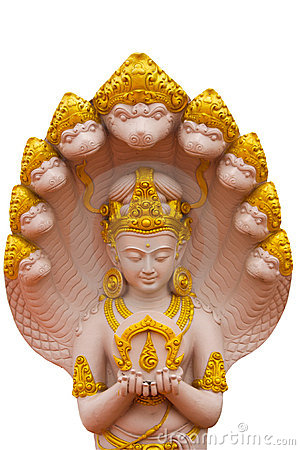 Image de dieux avec le Naga