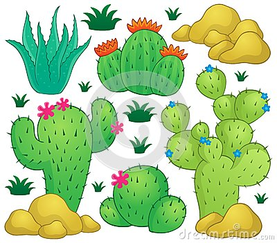 Image 1 de thème de cactus
