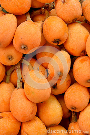Image of fresh loquat fruit