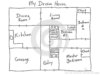 My dream house royalty free stock images image 29946059 for My dream house plans