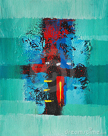 Image of an Interesting Abstract painting