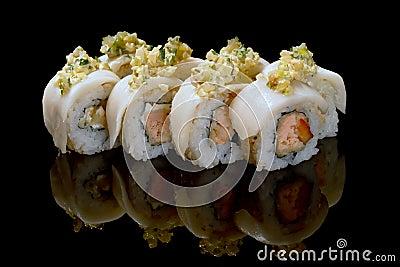 Image of maki sushi rolls