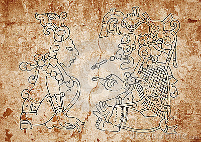 Image from the Mayan Dresden Codex
