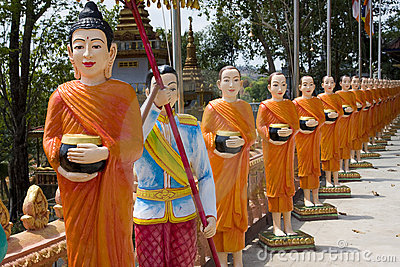The image of monks