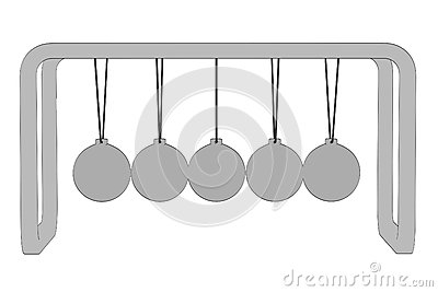 Image of newton cradle