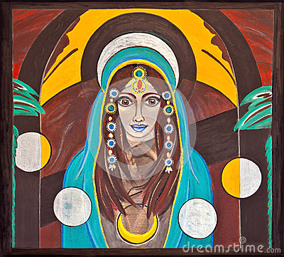 Free Image Of An Oriental, Holy And Spiritual Woman Royalty Free Stock Image - 33672606