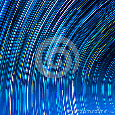 Free Image Of Long Exposure Star Trails. Royalty Free Stock Images - 49862879