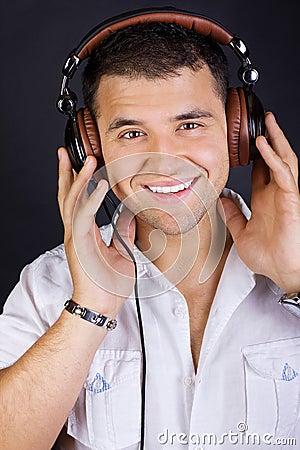 Free Image Of Smiling DJ Stock Image - 20163471