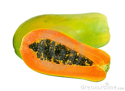 Image of Papaya fruits