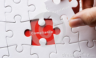 Image of Puzzle with Compliance and regulation