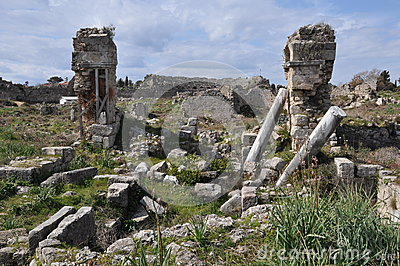 Antique Side with Amphitheatre, Turkey