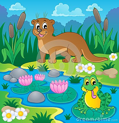 Imagem 1 do tema da fauna do rio