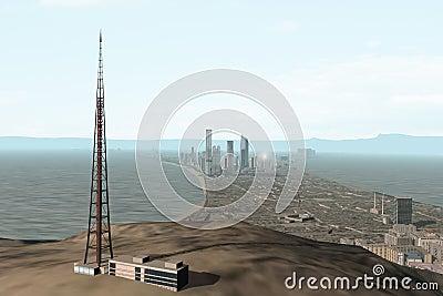 Imaginary city 118