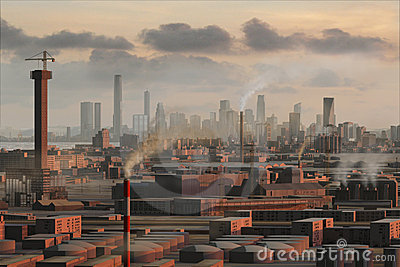 Imaginary city 19