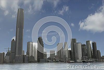 Imaginary city 20
