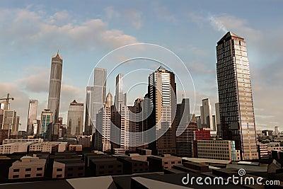 Imaginary city 29
