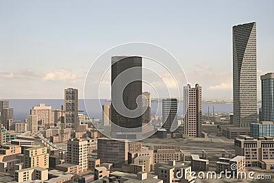 Imaginary city 89